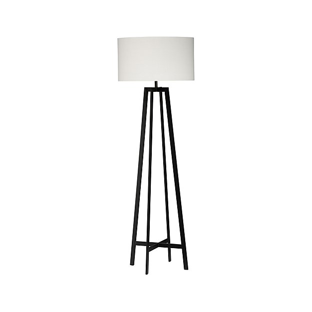 Castillo black floor lamp reviews crate and barrel aloadofball