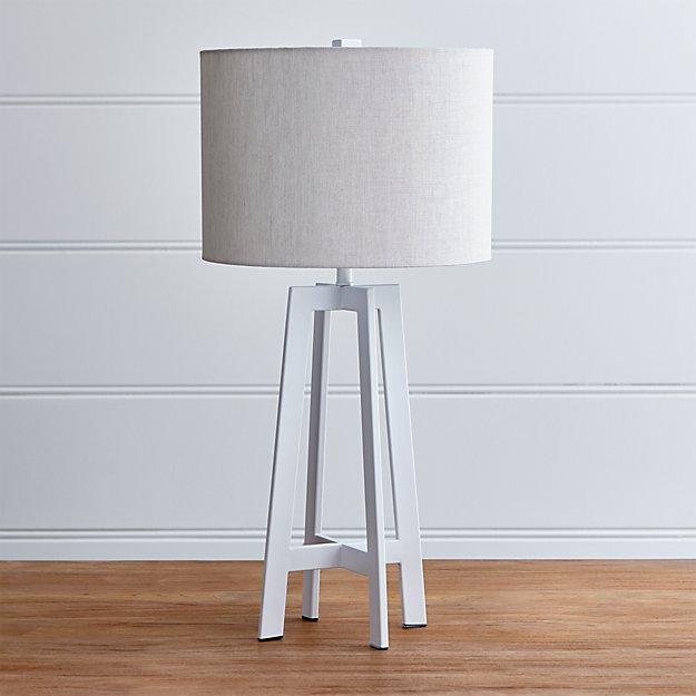 Castillo White Table Lamp