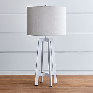 Castillo White Table Lamp