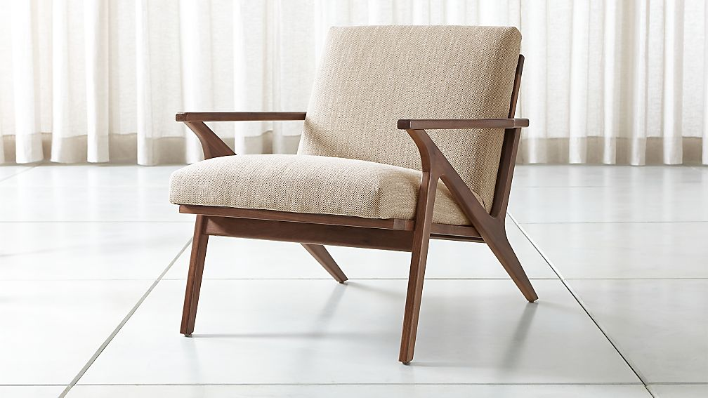 Cavett Wood Frame Chair Reviews Crate And Barrel