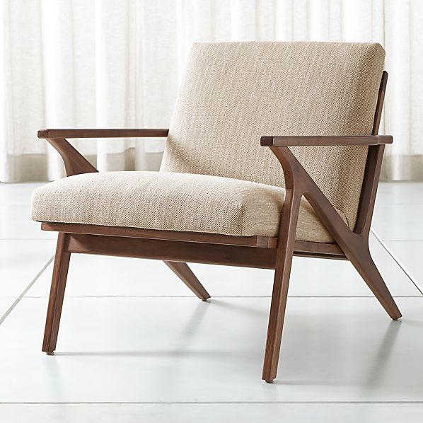 Astonishing Cavett Wood Frame Chair Pabps2019 Chair Design Images Pabps2019Com