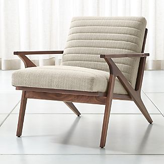 Living Room Accent Chairs   Crate and Barrel