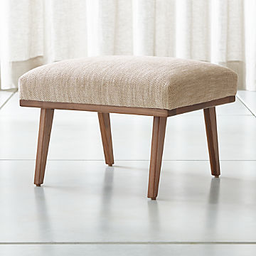 Outstanding Storage Ottomans And Cubes Crate And Barrel Dailytribune Chair Design For Home Dailytribuneorg