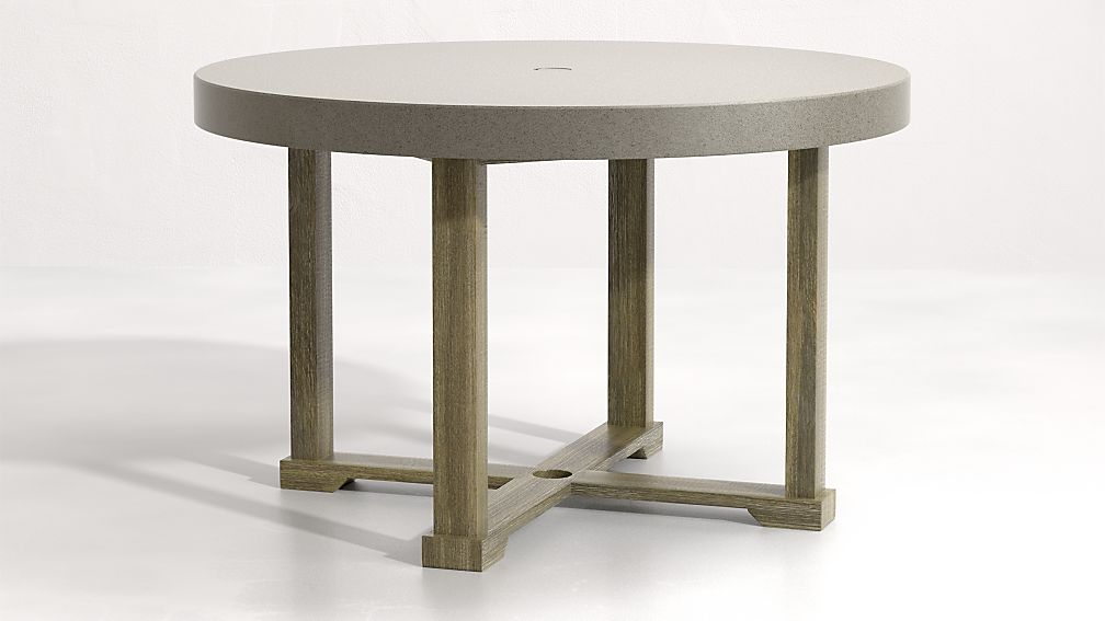 Cayman 48' Round Dining Table - Image 1 of 7