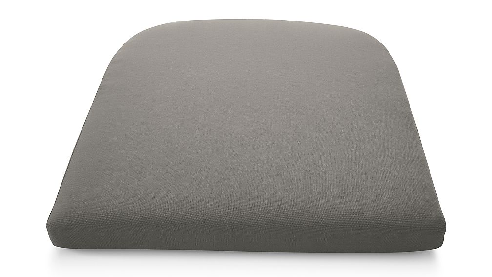 Cayman Graphite Sunbrella ® Dining Chair Cushion - Image 1 of 2