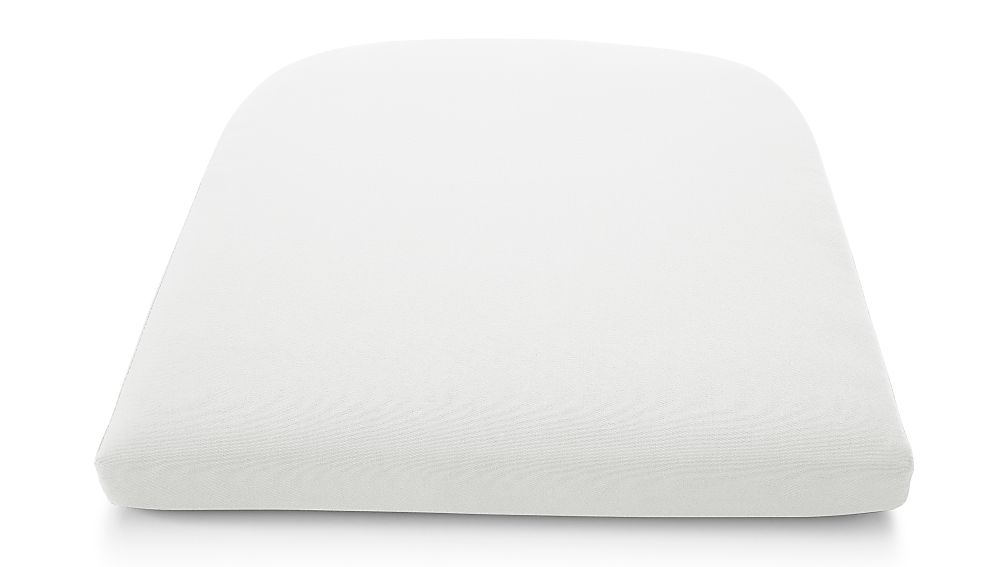 Cayman White Sand Sunbrella ® Dining Chair Cushion - Image 1 of 2
