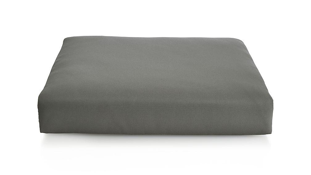 Cayman Graphite Sunbrella ® Ottoman Cushion - Image 1 of 1