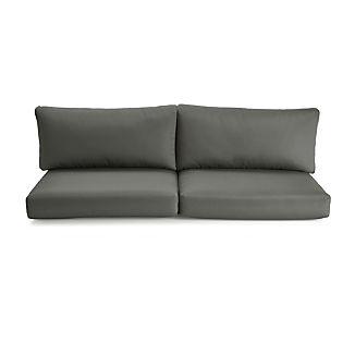 Cayman Graphite Sunbrella ® Sofa Cushions