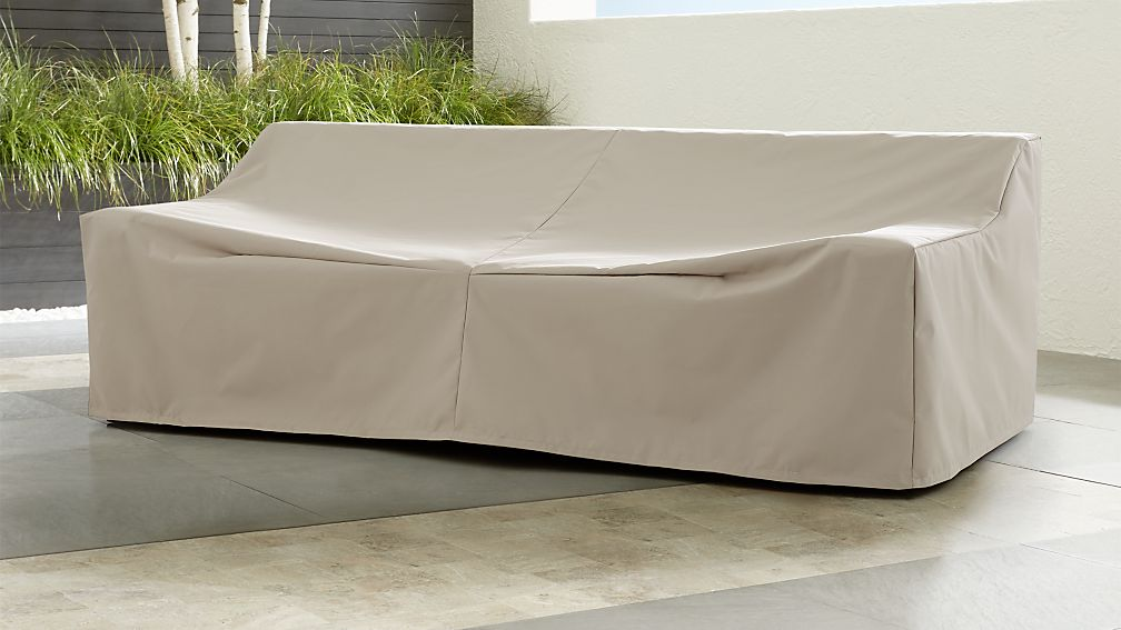 L-shaped outdoor sofa cover 340 x 270 cm - Garden Furniture Cover Shop
