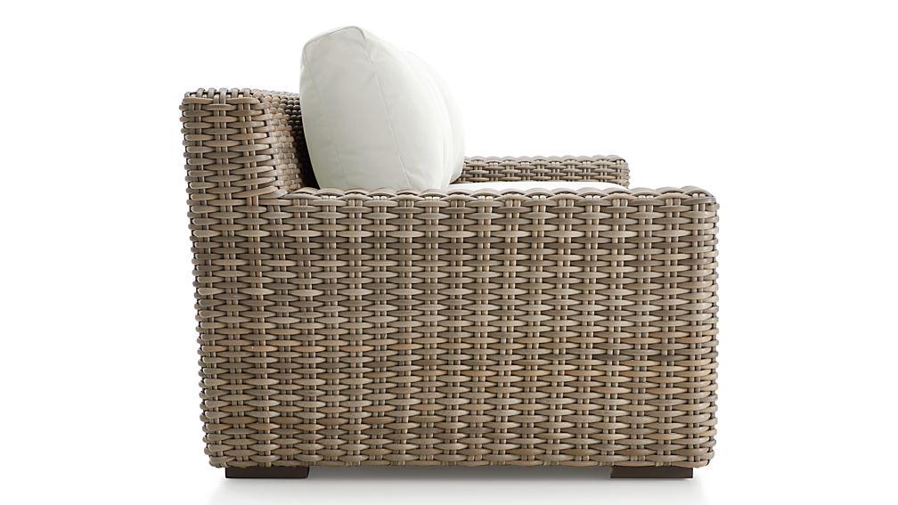 Cayman Outdoor Sofa With Sunbrella Cushions Reviews