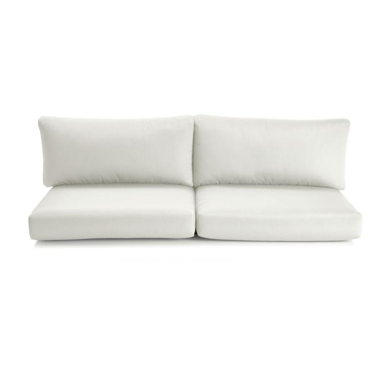 White Sand Sunbrella Sofa Cushions
