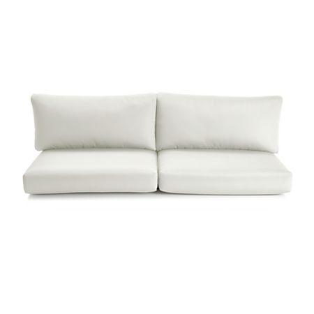 Amazing Cayman White Sand Sunbrella Sofa Cushions Uwap Interior Chair Design Uwaporg