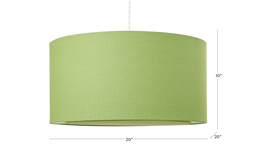 Green drum pendant light crate and barrel tap to zoom image with dimension for green drum pendant light aloadofball Choice Image