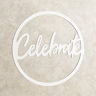 Celebrate Party Sign