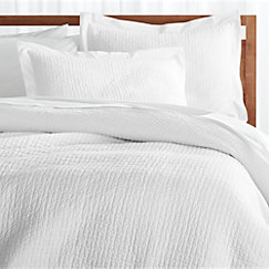 white twin duvet cover Celeste White Duvet Covers and Pillow Shams | Crate and Barrel white twin duvet cover