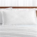 Celeste King White Pillow Sham
