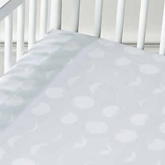 Organic Celestial Crib Fitted Sheet