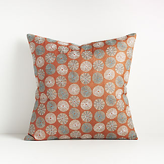 Celina Burnt Orange Pillow 18""