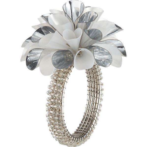 Celine Silver Napkin Ring