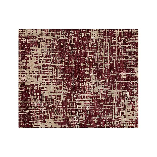 Celosia Berry 8'x10' Hand Knotted Rug