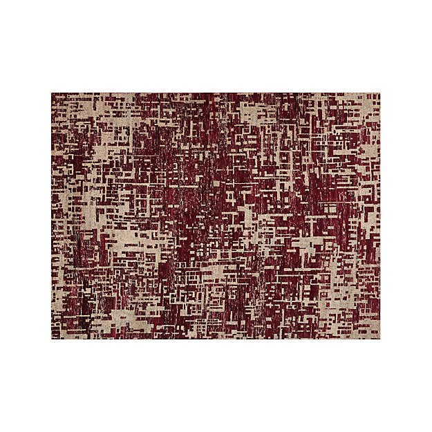 Celosia Berry 9'x12' Hand Knotted Rug