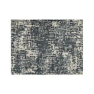 Celosia Grey Hand Knotted 9'x12' Rug