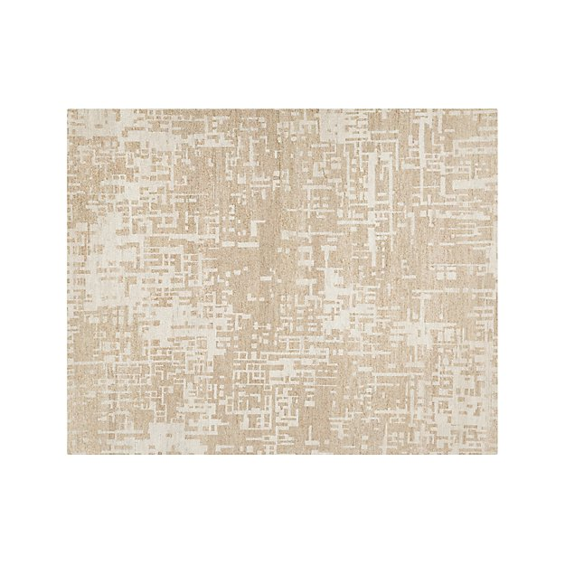 Celosia Natural Hand Knotted 8'x10' Rug