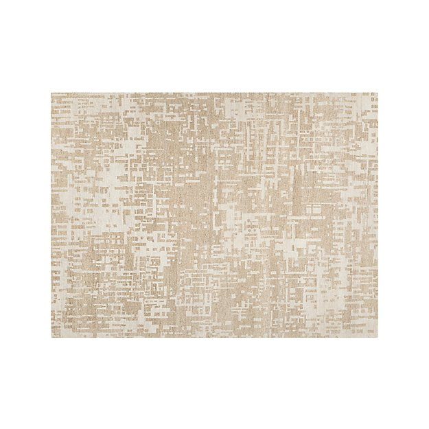 Celosia Natural Hand Knotted 9'x12' Rug