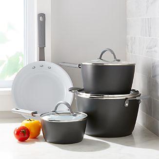 CeraStone CeraComm Titanium Ceramic 7-Piece Cookware Set