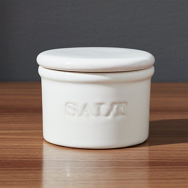 Ceramic Salt Cellar Crate And Barrel