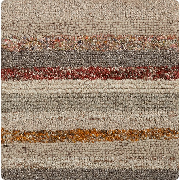 "Ceres Striped 12"" sq. Rug Swatch"