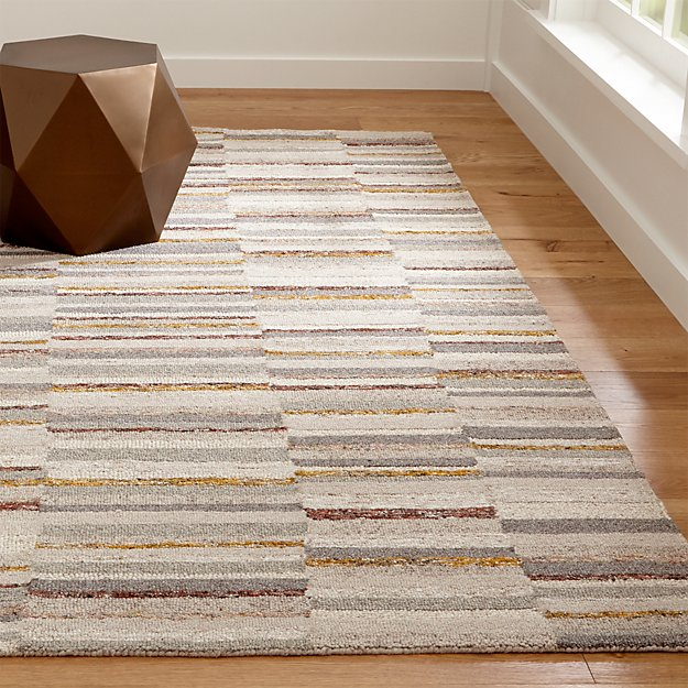 Rugs Like Crate And Barrel: Ceres Striped Rug