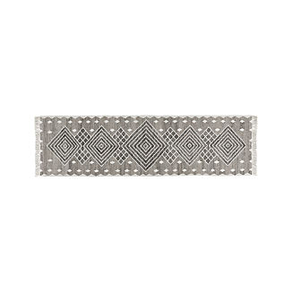 Ceri Grey Indoor/Outdoor Rug 2.5'x9'