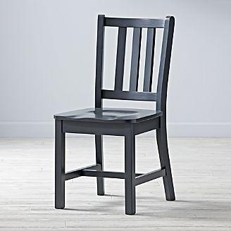 Parker Charcoal Grey Kids Desk Chair