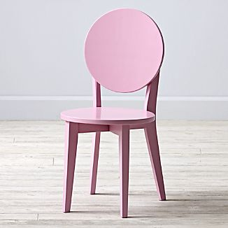 Double Dot Pink Kids Play Chair
