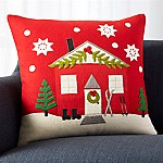 Chalet 20  Pillow with Feather-Down Insert