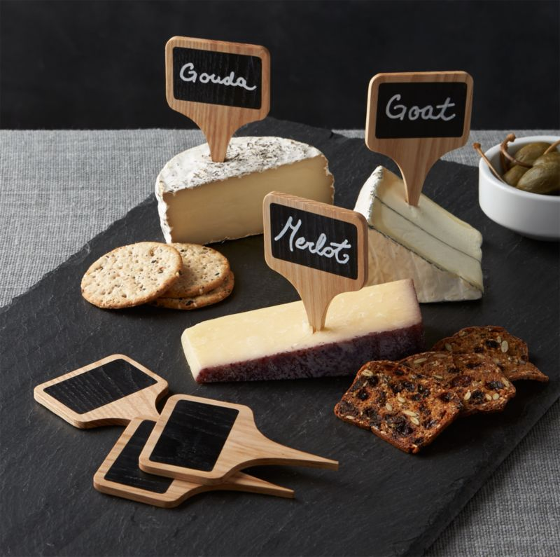 Chalkboard Cheese Markers Set Of 6 Reviews Crate And