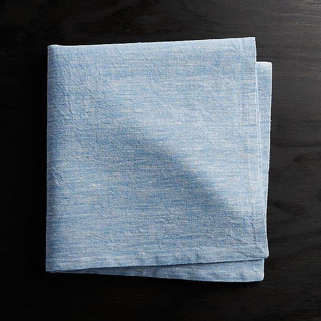 Blue Chambray Napkin - Image 1 of 4
