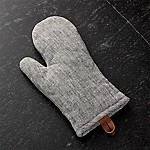 Chambray Grey Oven Mitt