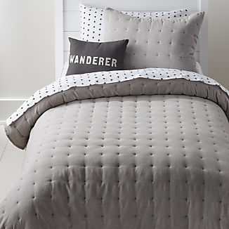 Chambray Grey Bedding