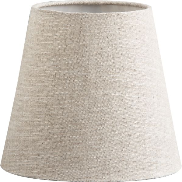 Linen Chandelier-Sconce Shade