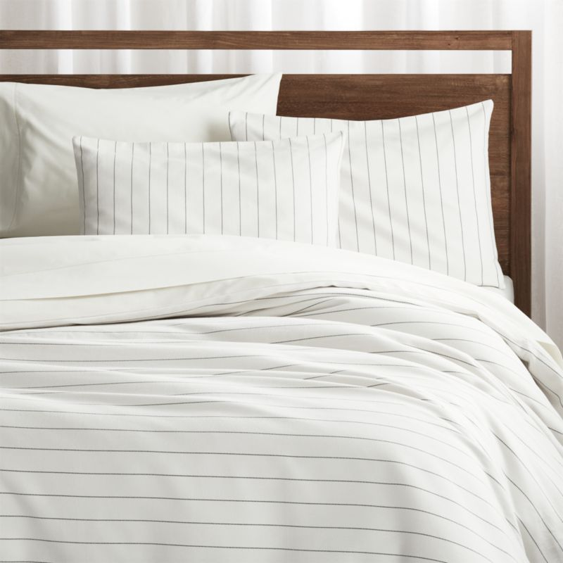 Chandler Pinstripe Duvet Covers and Pillow Shams