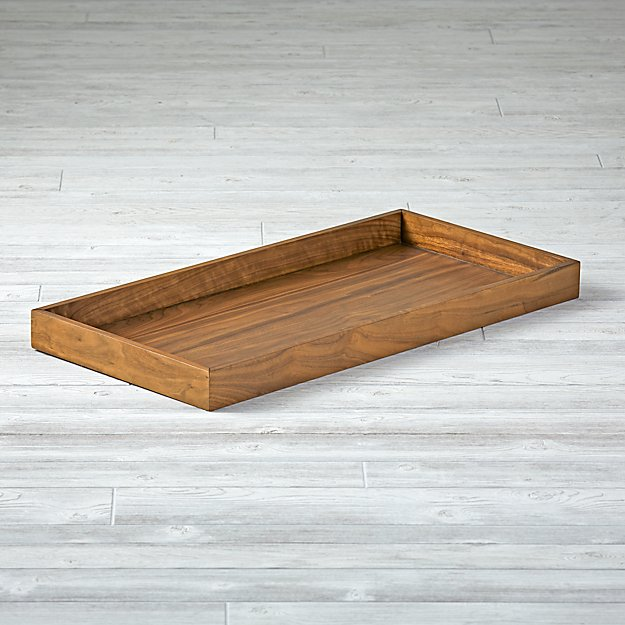 Taylor Walnut Changing Table Topper - Image 1 of 4
