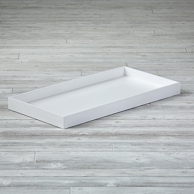 White Changing Table Topper - Image 1 of 6