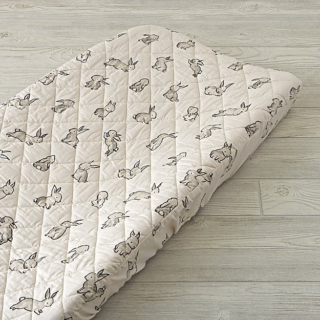Bunny Changing Pad Cover - Image 1 of 2