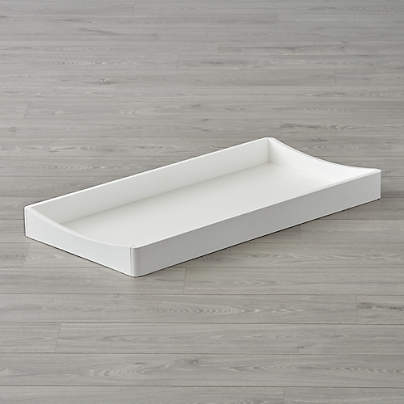 View testHampshire White Changing Table Topper