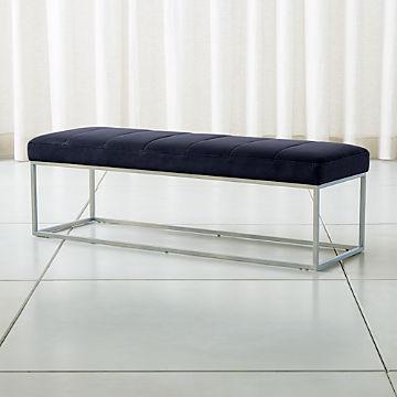 Miraculous Bedroom Benches With Storage Crate And Barrel Inzonedesignstudio Interior Chair Design Inzonedesignstudiocom
