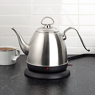 Chantal ® Mia Electric Stainless Steel Tea Kettle