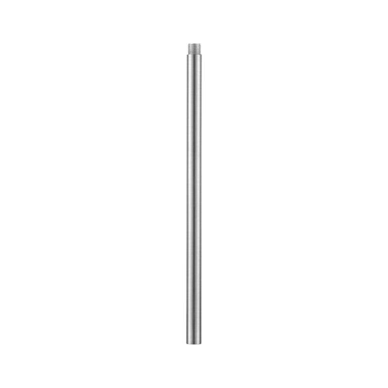 Extension rod for Charles Chandelier accommodates higher installation needs. Steel with brushed nickel finish.<br /><br /><NEWTAG/><ul><li>Steel</li><li>Brushed nickel finish</li></ul>