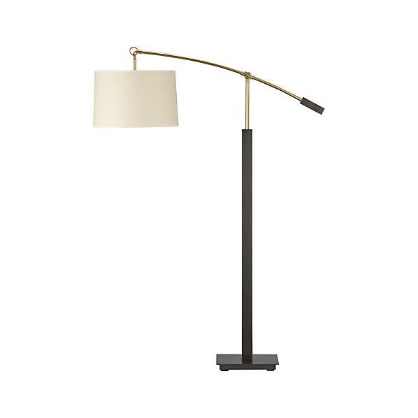 Charles Bronze Floor Lamp